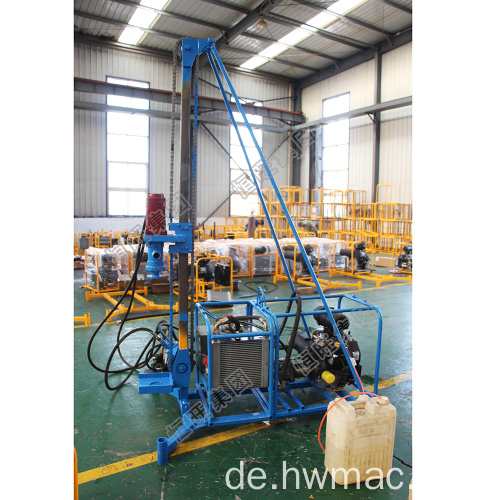 Man Portable Mountain Drilling Rig
