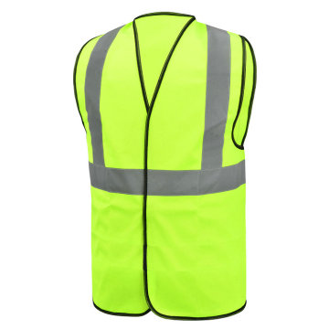 Green Visibility Highlight Reflective Vest Safety