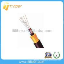 Miembro de fuerza no metálico Cable de fibra de exterior sin blindaje GYFTY