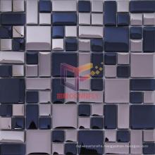 Decorative Wall Glass Tile Crystal Mosaic (TC401)