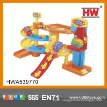 High Quality Kids Plastic Cartoon Parking Lots Toy