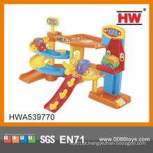 Crianças de alta qualidade de plástico cartoon estacionamento brinquedo Lotes