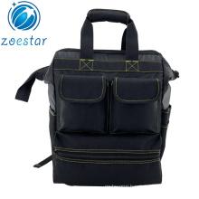 Havy Duty Tool Backpack Multi-purpose Worksite Kit Bags Electrician Tool Carrier Back Packs
