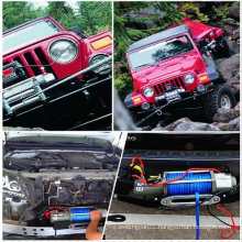 CE approved Power Winch, Electric Winch, Short Drum 13000 Lbs Winch