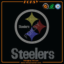 Steelers NFL hierro de diamante en los parches