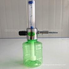 Umidificador de oxigênio regulador médico e medidor de vazão