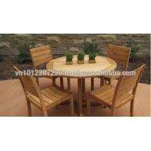 Эвкалипт твердой древесины на открытом воздухе / сад комплект мебели