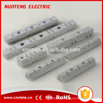 EL series electric neutral copper aluminum bus bar with high quality