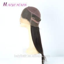 Manufacturer No Shed Brazilian Human Hair Cuticle Aligned Baby Hair 360 Wig Lace Front Wig