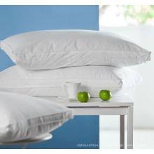 Oreiller bon marché de remplissage de fibre de polyester 100% pour l'hôtel et l'hôpital