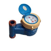 Drehschieber Vertikal Messing Wasser Dosierung / Durchflussmesser