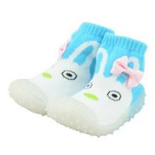 El tubo caliente de la historieta del bebé de la venta pega los zapatos para los muchachos y las muchachas