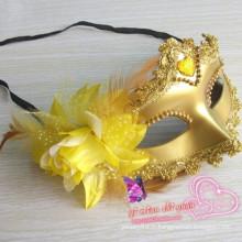 Masque de masque en tissu de dentelle de partie de Halloween