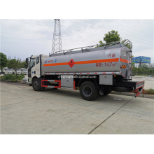 Camión cisterna de combustible 4x2 para transporte de petróleo