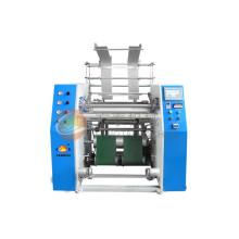 Machine automatique de rebobinage de film extensible de PE de Fts-700 (CE)