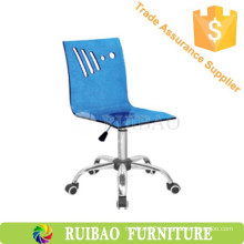 Kitchen Swivel Chair Acrylic Bar Stool/chair with Wheels Furniture