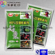 Embalaje de plástico de 3 hojas de sellado de aluminio