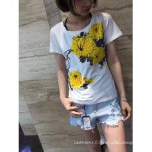 T-shirt à manches courtes pour femmes