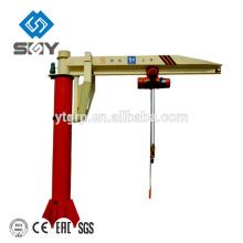 Atelier monté par plancher utilisé grue de potence à vendre