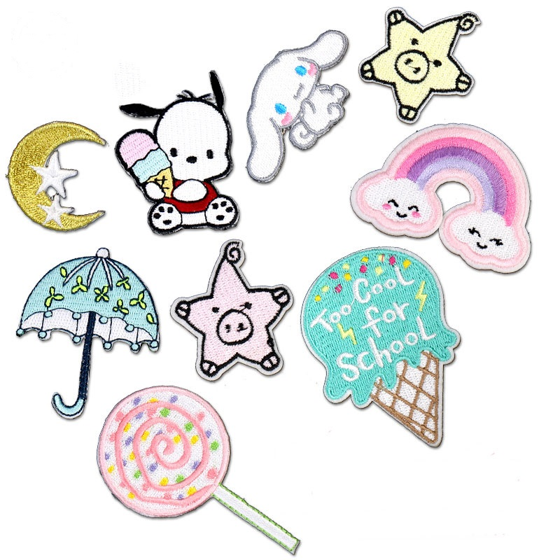Children Fashion Patch On Clothes