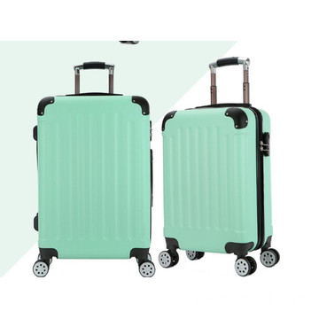 Set valigia trolley rigido in plastica all'ingrosso