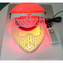 Beauty equipment PDT led facial mask for skin rejuvenation