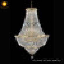 Lampe de table de lustre en cristal italien de style européen pour la salle à manger