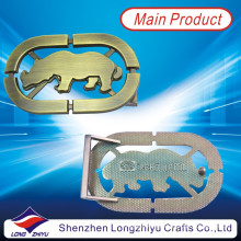 Hechos a medida de metal bull bull conmemorativo hebillas para los distribuidores de cinturones en Shenzhen (LZY201300002)
