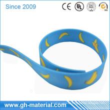 Hoher Abriebfestigkeits-wasserdichtes Plastik überzogenes Gurtband in der unterschiedlichen Farbe