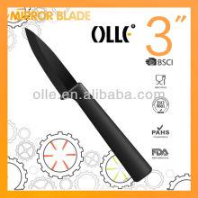 High Quality Black Blade Fruit Carving Knife