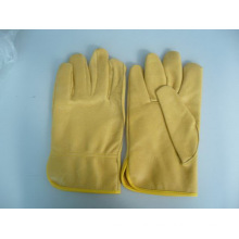Pig Leather Driver Glove-Industrial Glove- Safety Glove-Weight Lifting Glove
