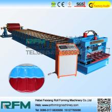 Hochpräzise trapezförmige glasierte Fliesen Blechmaschine in China
