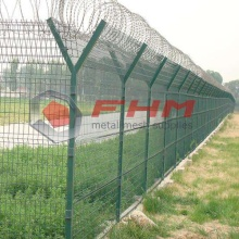 PVC Coated Galvanized Welded Wire for Airport Fence