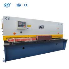QC12Y-8X2500 NC Máquina de cisalhamento de viga giratória hidráulica cnc máquinas de cisalhamento de viga giratória