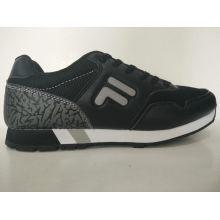 Al aire libre deportivo negro zapatos deportivos para hombres