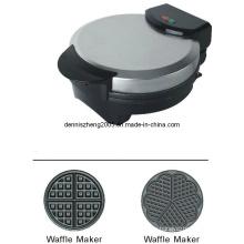 Elektrische Waffeleisen, Runde Herz geformt belgische Waffel Maker Maschine