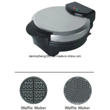 Electric Waffle Maker, Round Heart Shaped Belgian Waffle Maker Machine