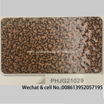 Thermosetting Antique Copper Brass Vein Texture Powder Coating