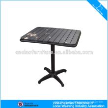 Teak wood restaurant table