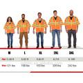 Venta caliente advertencia de seguridad vial alta visibilidad chaleco reflectante Fluo Gilet Hola Vis chaleco de seguridad con bolsillos