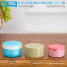 varios estilo 50g y 80g interesante e innovador buena buscando cosméticos envases tarro de crema de los pp de alta calidad
