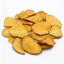 Healthy Snack Food Vegetables Vf Sweet Potato Chips with Dark Brown Sugar