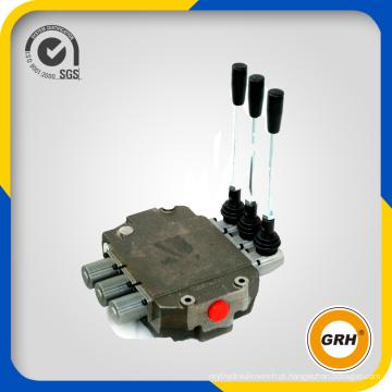 45lpm, 4 carretéis, válvulas de controle direcional monobloco hidráulico