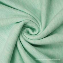 Melange Rayon Polyester Spandex Fleece Stoff