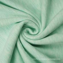 Sudaderas con capucha de tejido de felpa francesa de lana de poliéster viscosa de mezcla