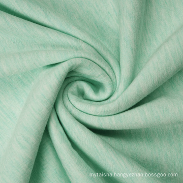 Melange Viscose Polyester Fleece French Terry Fabric Hoodies