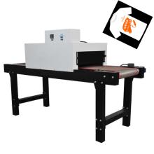 Horno de túnel infrarrojo TM-IR-400 T-Short para secado de maquinaria de impresión