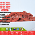 Melhor nutrição orgânica certificada Goji Berry com alta qualidade