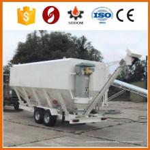 Silo de ciment mobile, silo de ciment horizontal mobile