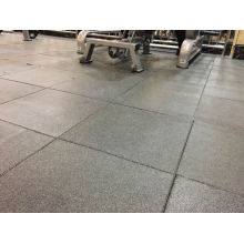 Tapetes de equipamentos de ginástica, tapete de borracha para exercícios, telha de borracha reciclada